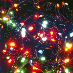 Luces Navidad 100 Leds Colores Interior