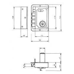 Piscina Infantil Con Parasol Extraible109x104 cm.