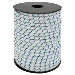 Cuerda Elástica Forrada    8 mm. Rollo de 100 metros
