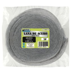 Lana De Acero 2500 gr.  Grueso 3