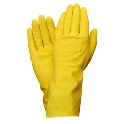Guante Latex 100% Basic Domestico  M (Par)