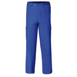 Pantalon De Trabajo Azul 60