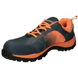 Cama Camping Aluminio/textil Azul