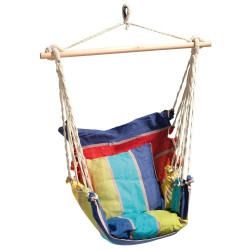 Hamaca Sillon Colgante Multicolor