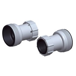 Adaptador Tubo Piscina 38mm - Set 2 Piezas