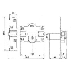 Adaptador Magnético Wolfpack 60 mm. (2 Piezas)