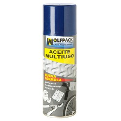 Aceite Multiuso Triple Accion Wolfpack Spray 270 Gramos