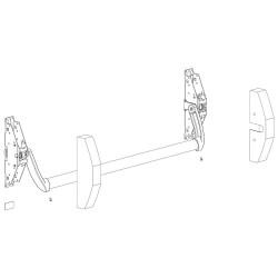 Caldereta Sifónica PVC T-86-V  25x25  110-90