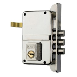 Cerradura Azbe Seguridad 8-hn/hs3/ Izquierda