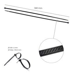 Recogedor Persiana Mini  6 Metros Embutir Cinta 14 mm.