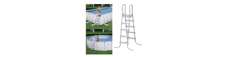 Escaleras para piscinas