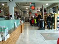 Fotografía entrada a la tienda Chambalo